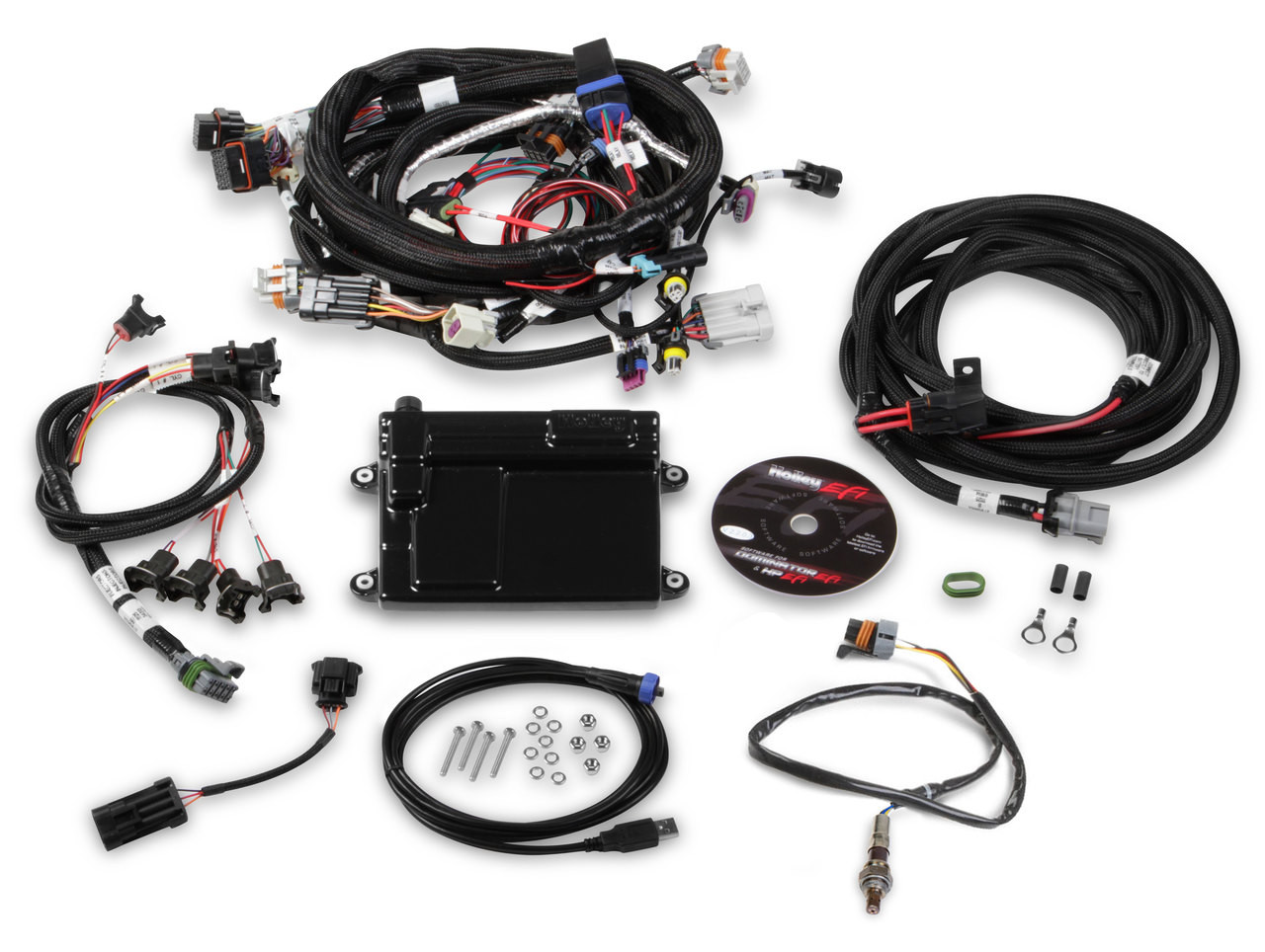 hight resolution of holley hp efi plug and play ecu and harness kit for gm ls2 ls3