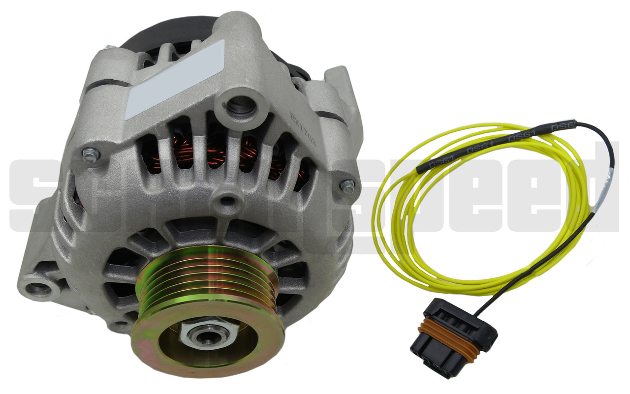 small resolution of ls swap alternator kit with exciter wire
