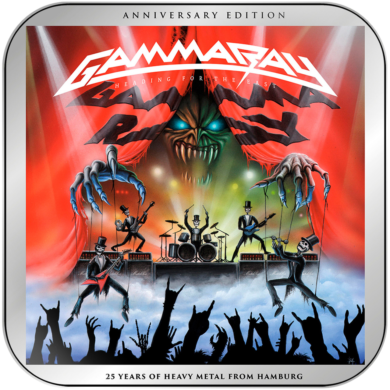 Gamma Ray Heading For The East Album Cover Sticker