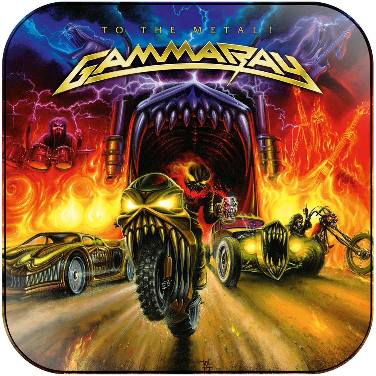 Gamma Ray To The Metal 1 Album Cover Sticker