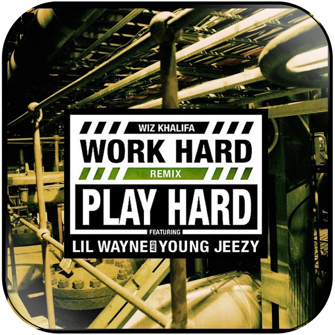 wiz khalifa work hard play hard remix album cover sticker
