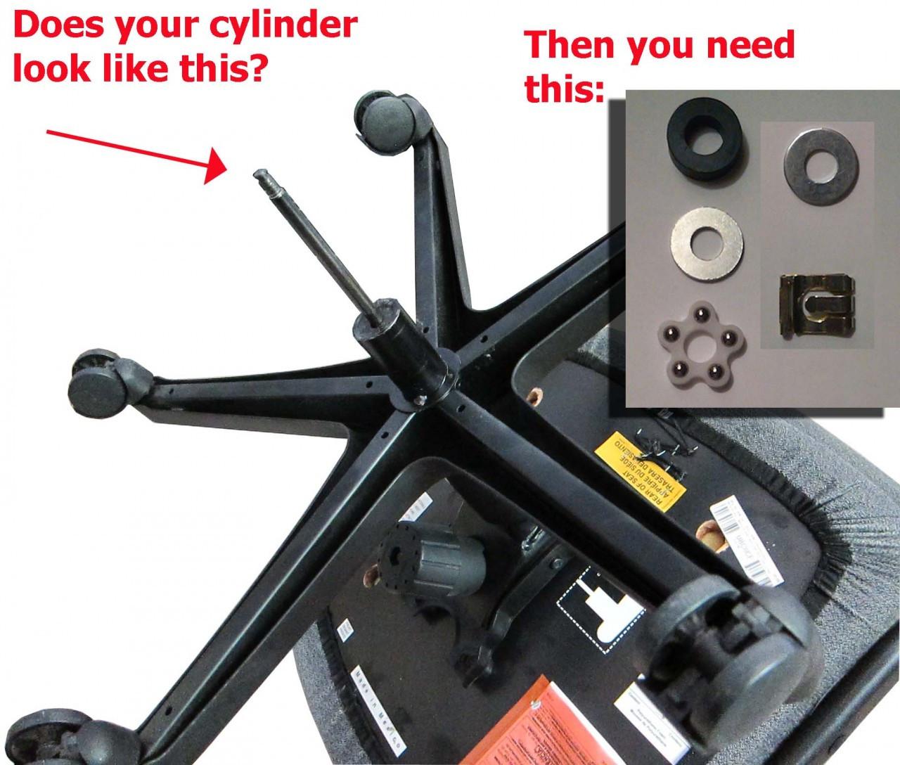 Gas Cylinder Bearing Kit Replacement