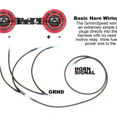 Horn Wiring Diagram With Relay 3 Phase Motor Star Delta Hella Harness 02 14 Wrx 04 Sti Grimmspeed