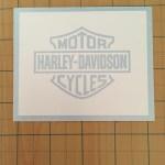 Harley Davidson Logo Inner Paint Stencil