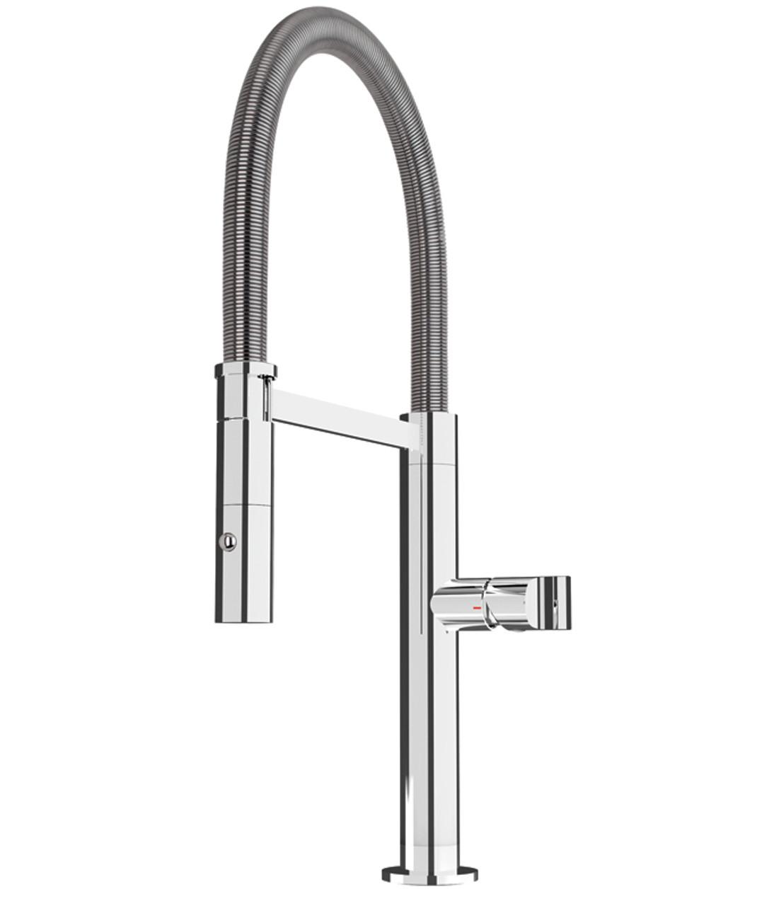 kitchen taps rv sink rubi volta kook single hole professional style faucet