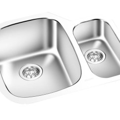 24 Kitchen Sink Damascus Knives Gem Double Undermount X 18 Km1614 York Taps