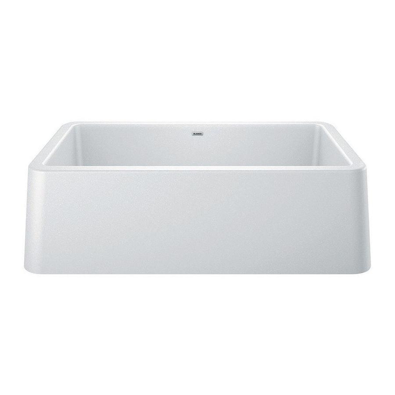 blanco ikon apron front sink 30 white