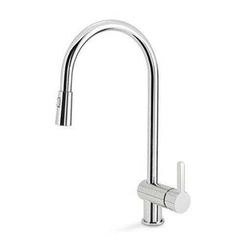 pull out spray kitchen faucet italian themed curtains blanco 401460 rita single hole pullout sop1423 in chrome