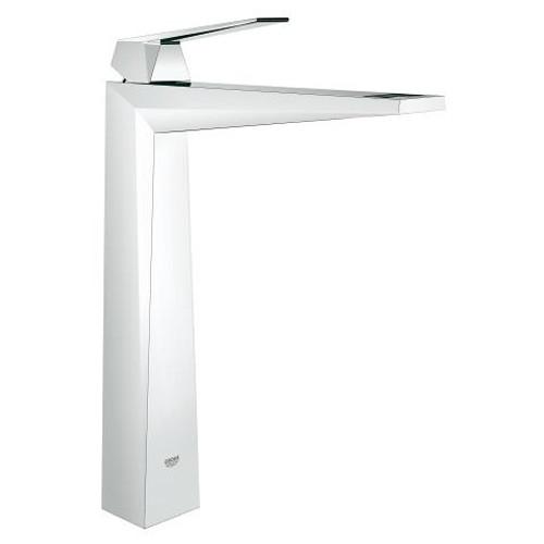 grohe allure brilliant single handle vessel bathroom faucet xl size lavatory centreset for vessel basin chrome finish