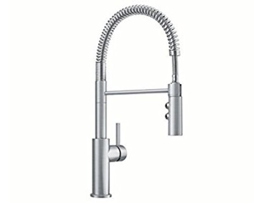 kitchen taps how much is a island blanco catris pull down spray faucet in stainless finish