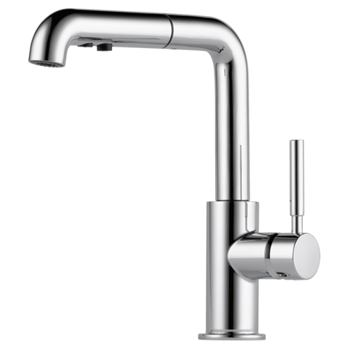 brizo solna single handle pull out kitchen faucet