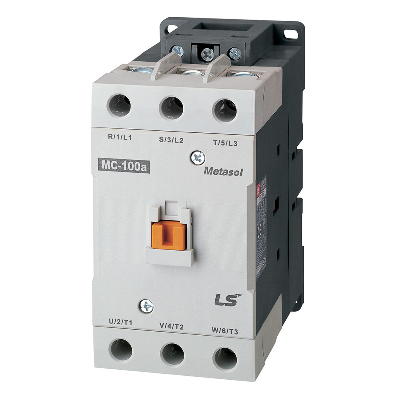 hight resolution of lsis mc 100a metasol series magnetic contactor ac24v 50 60hz screw 2a2b