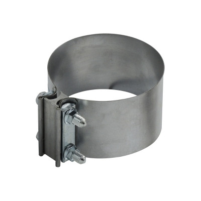 6 in aluminized steel butt exhaust hose clamp