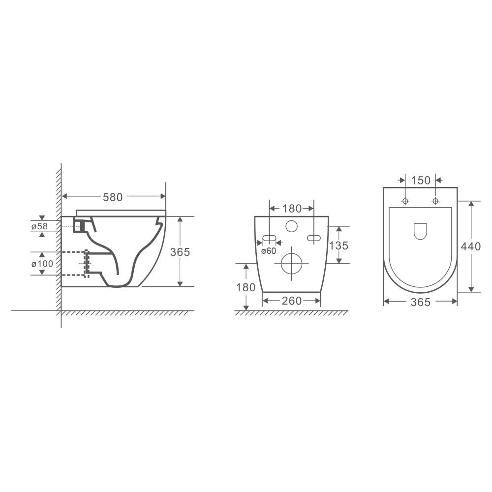 raven wall hung pan with geberit in wall cistern sigma 8 kappa [ 1000 x 1000 Pixel ]