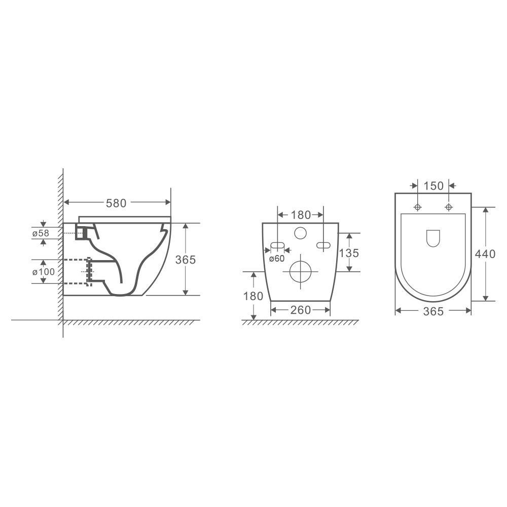 medium resolution of  raven wall hung pan with geberit in wall cistern sigma 8 kappa
