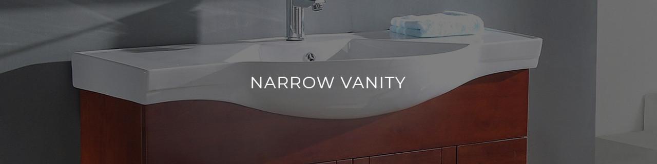 narrow vanity unique luxury designs