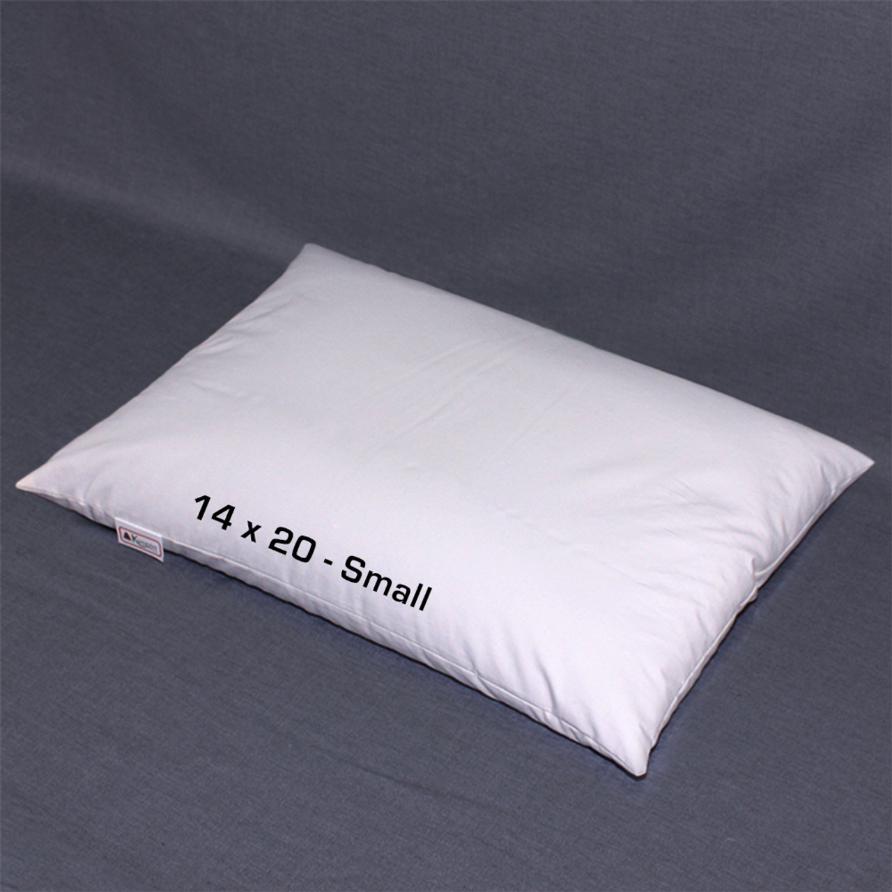 14 x 20 small buckwheat hull pillow