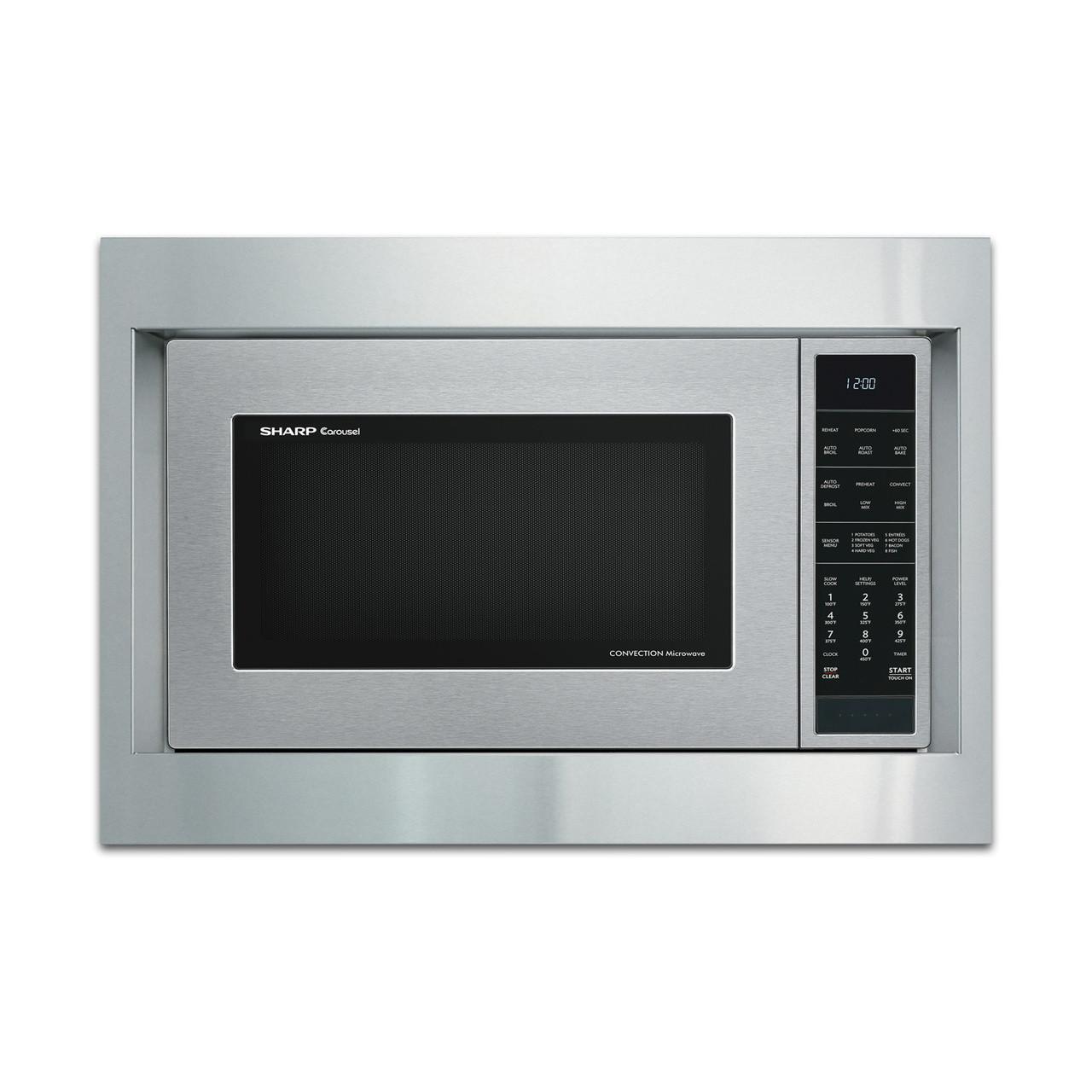 sharp 27 in built in microwave oven trim kit rk94s27f