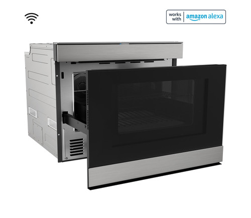 24 built in smart convection microwave drawer oven smd2499fs