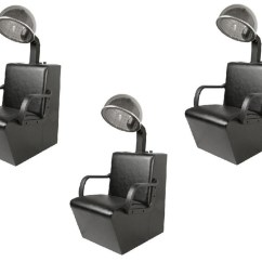 Dryer Chairs Salon Swivel Chair Base Uk Jeffco 3 And Dryers Package
