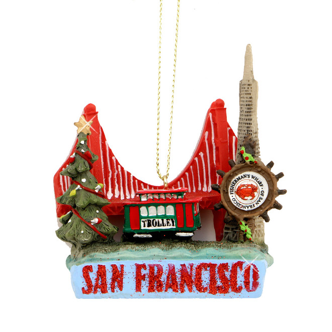 San Francisco Ornament Christmas