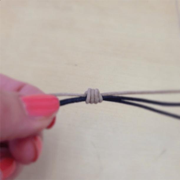 Tightening Knot Bracelet