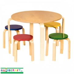 Table Chair Set Cosco Slim Fold High Kids Toddler Tables And Chairs At Little People S Cove Guidecraft Nordic Color