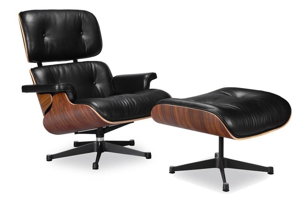 white eames lounge chair replica fisher price laugh and learn story vitra black manhattan home design ottoman