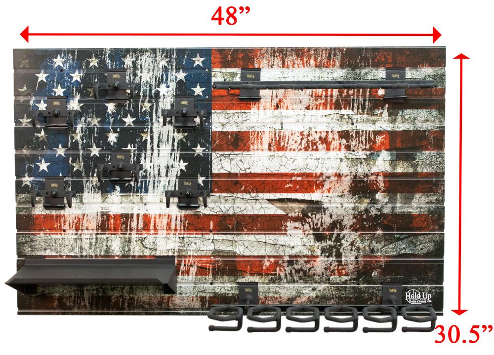 american flag gun wall bundle hd93 f