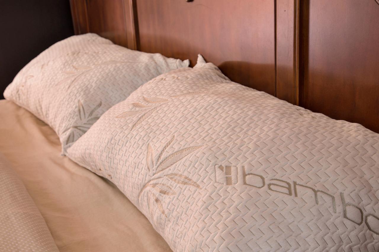 bamboo pillow king guaranteed comfort