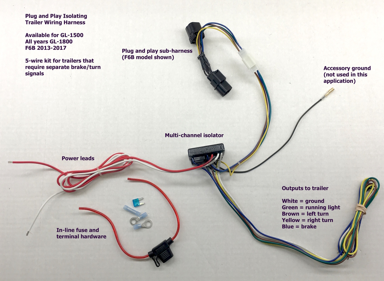 small resolution of trailer light wire harnes