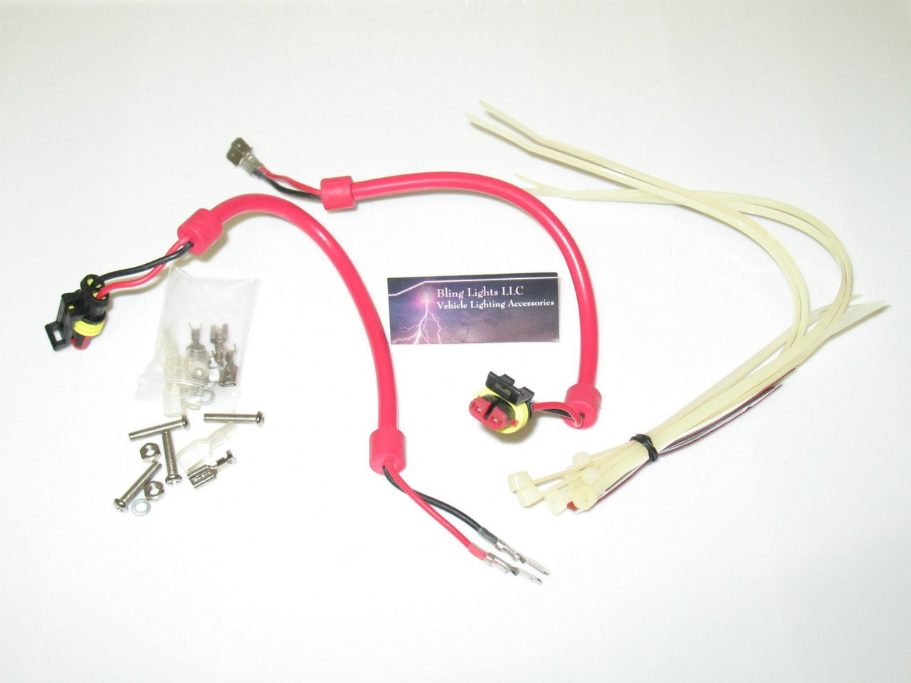 medium resolution of h1 h3 h7 hid conversion kit universal ballast harness wiring accessories blinglights com