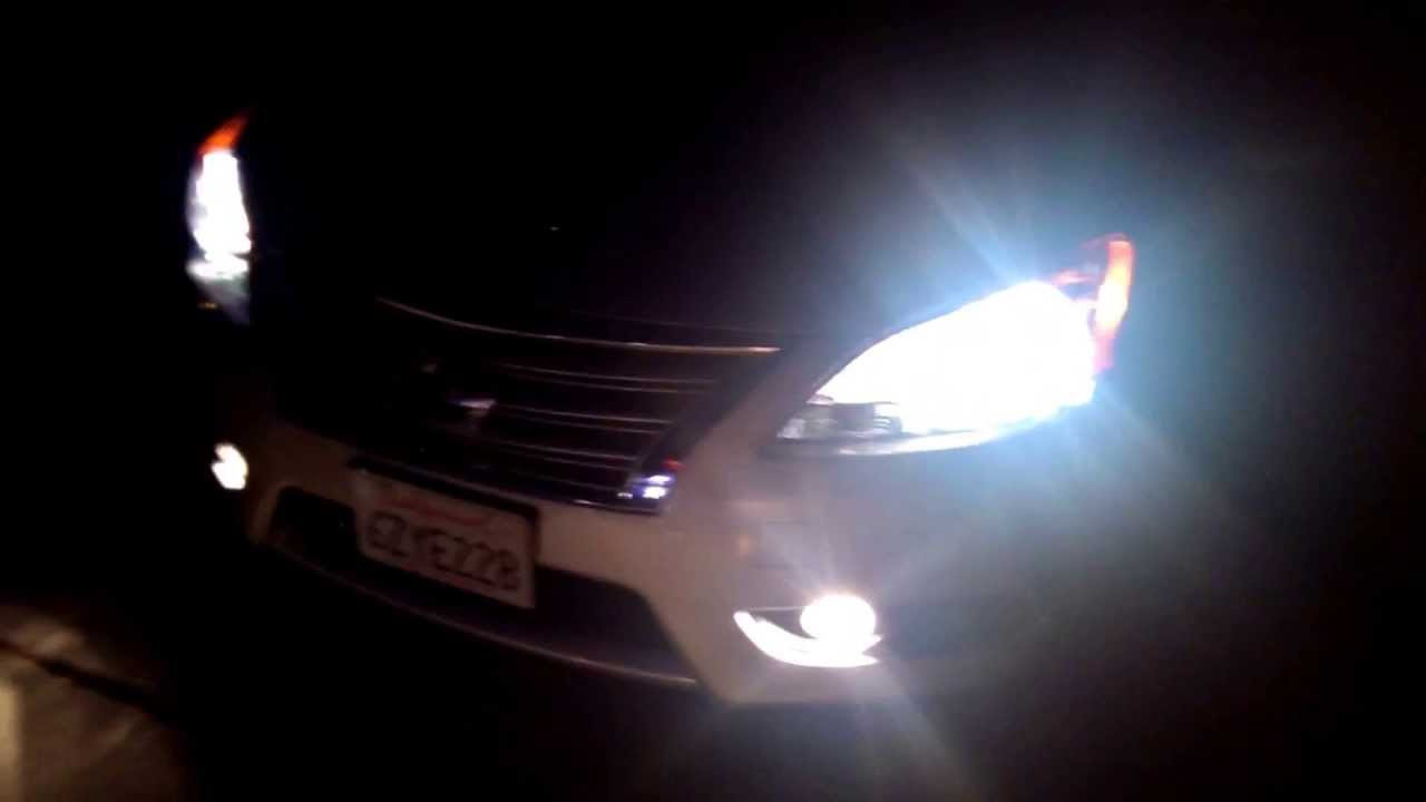 2013 2019 nissan sentra b17 55w xenon hid conversion kit blinglights com [ 1280 x 720 Pixel ]