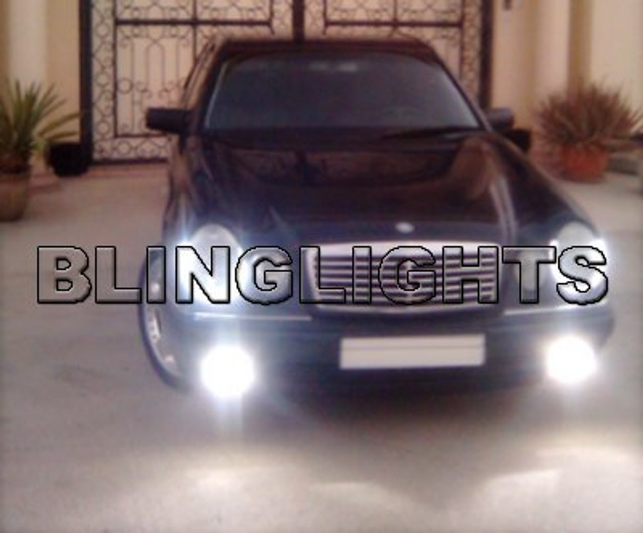1996 1997 mercedes benz e300 xenon fog lights driving lamps foglamps kit e 300 diesel [ 1280 x 1062 Pixel ]
