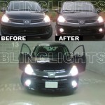 2007 2011 Nissan Versa Xenon Fog Lamps Driving Lights Kit Blinglights Com