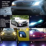 2004 2005 2006 2007 2008 Acura Tl Replacement Hid Bulbs For Headlamps Headlights Head Lamps Lights Blinglights Com