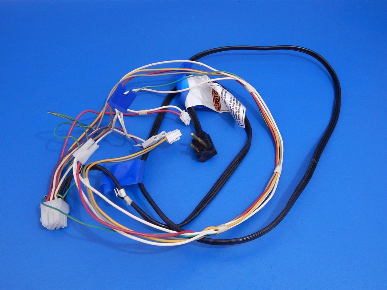 hight resolution of whirlpool side side refrigerator wrs325fdam02 wall plug wire harness w10417928 ice cold beer appliance parts