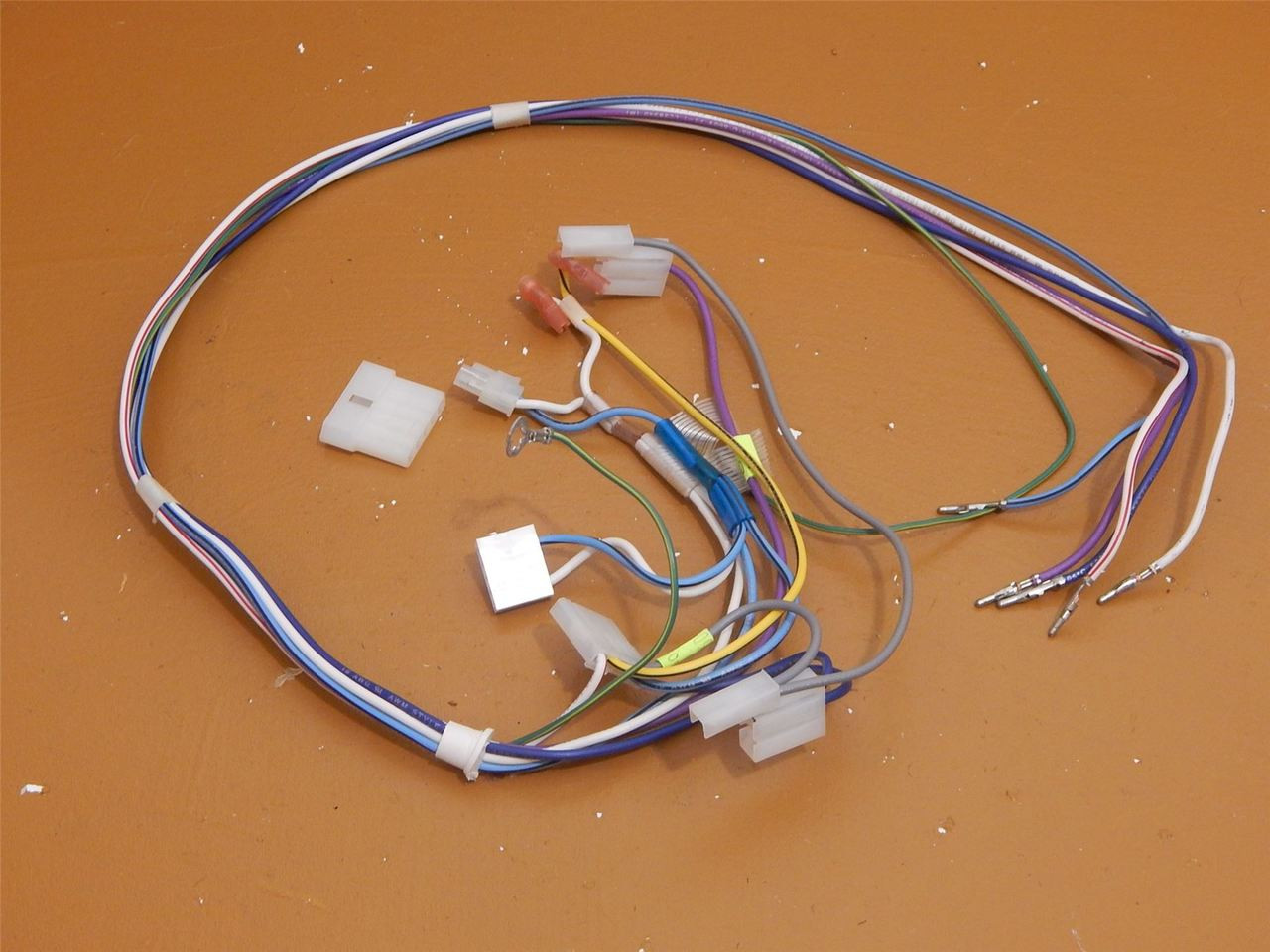 hight resolution of whirlpool side by side refrigerator ed5phexnq00 dispenser wire harness 2311641 ice cold beer appliance parts