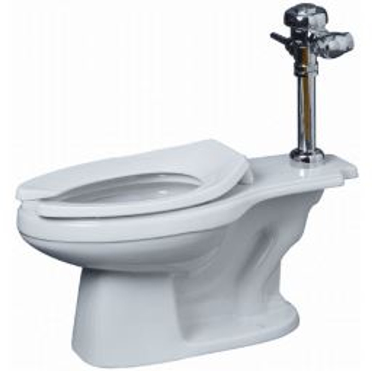 proflo high efficiency elongated toilet bowl only