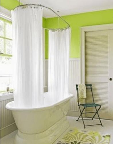 barclay oval shower curtain ring 60 x 30 chrome
