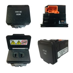 Plug Power Q2 Daikin Split System Air Conditioner Wiring Diagram Mercedes Benz Interior Outlet Glk350 115v Ac 150w Gl450 Housing Socket Ave8010050 A 000