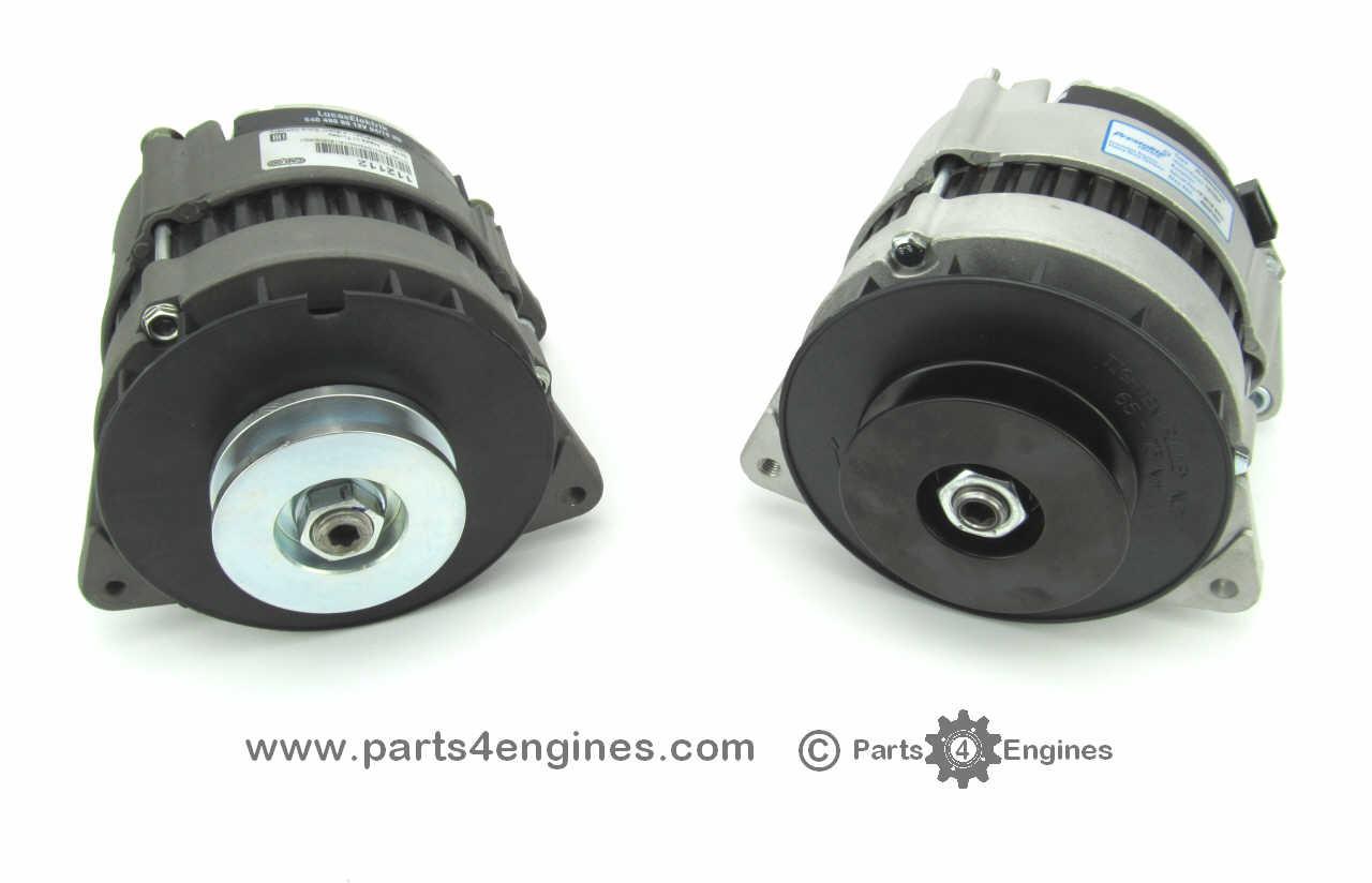 small resolution of perkins 6 354 70a 90a insulated return alternator p4e