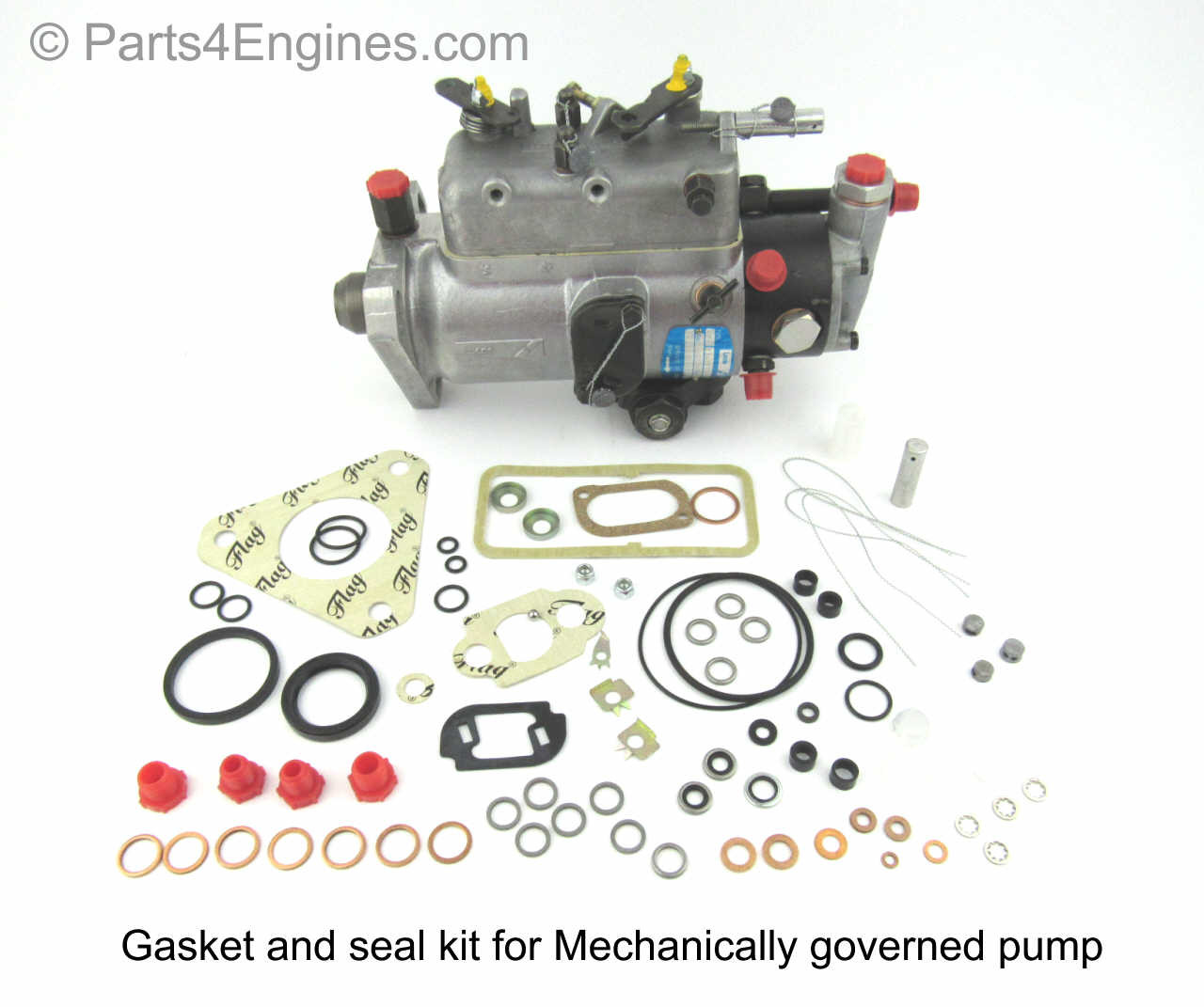 perkins 6 354 gasket seal kit for mechanical governed injection pump [ 1280 x 1071 Pixel ]