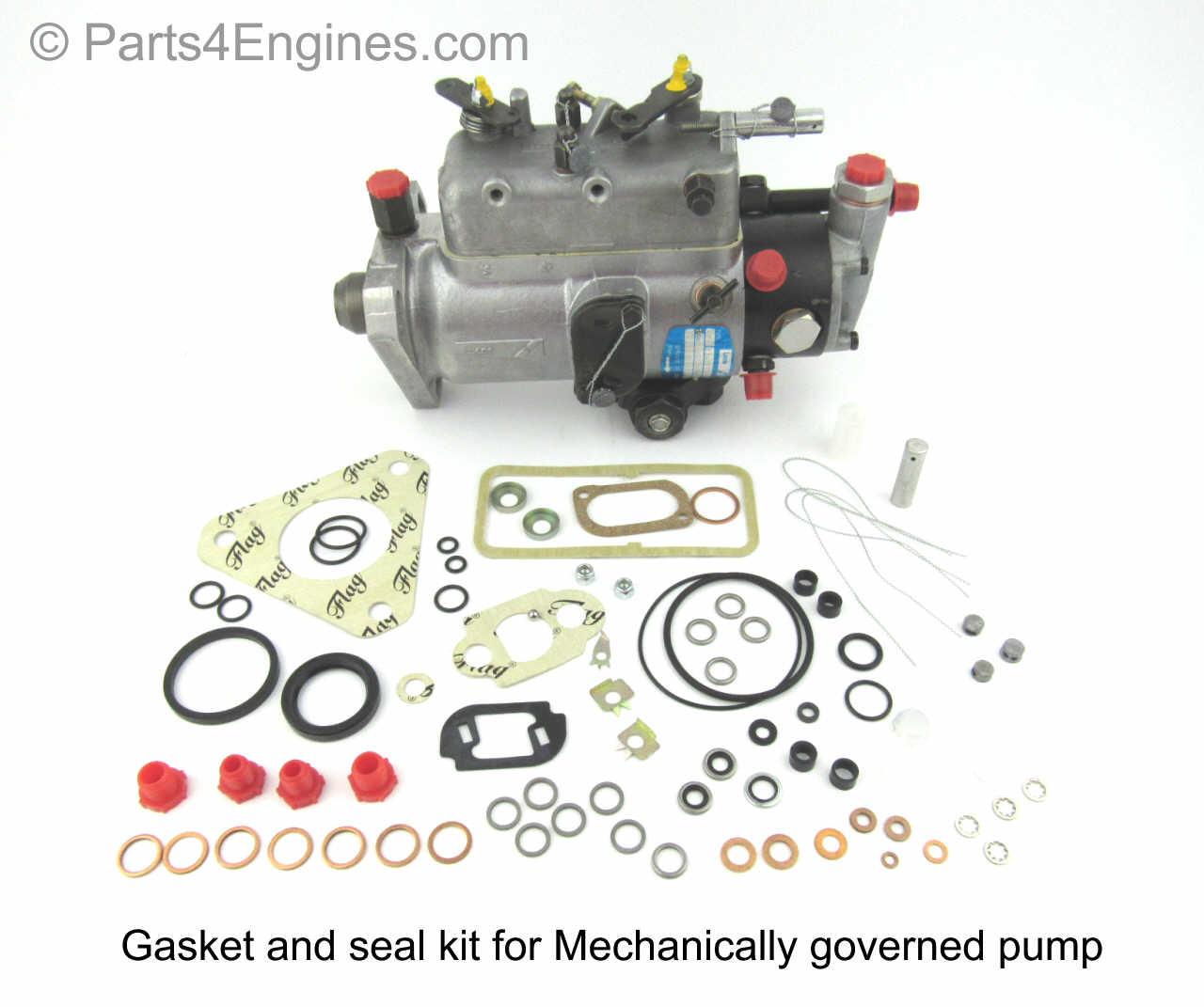 medium resolution of perkins 6 354 gasket seal kit for mechanical governed injection pump
