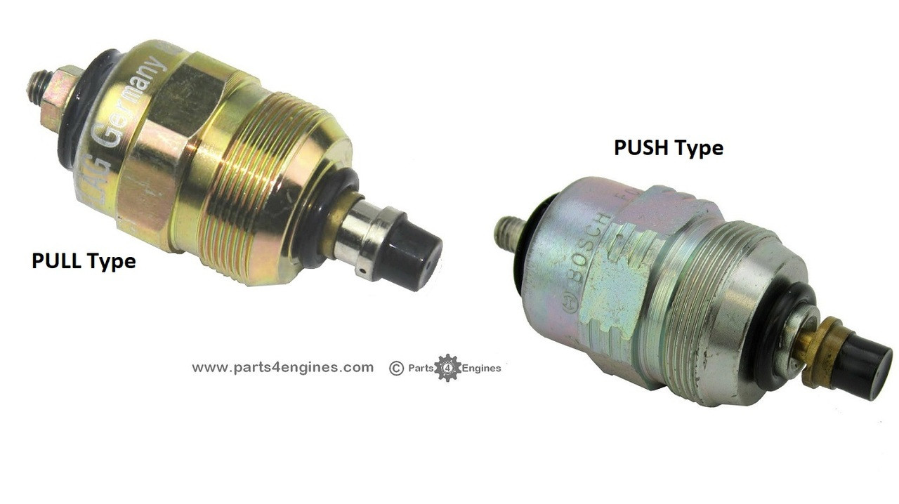 small resolution of volvo penta md22 stop solenoid pull push parts4engines com