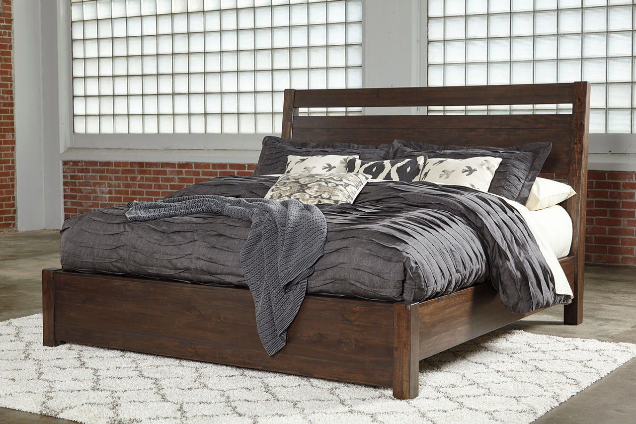 starmore brown california king panel bed