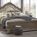 The Charmond Brown California King Upholstered Sleigh Bed Available At Furniture Connection Serving Clarksville Tennessee And Ft Campbell Kentucky