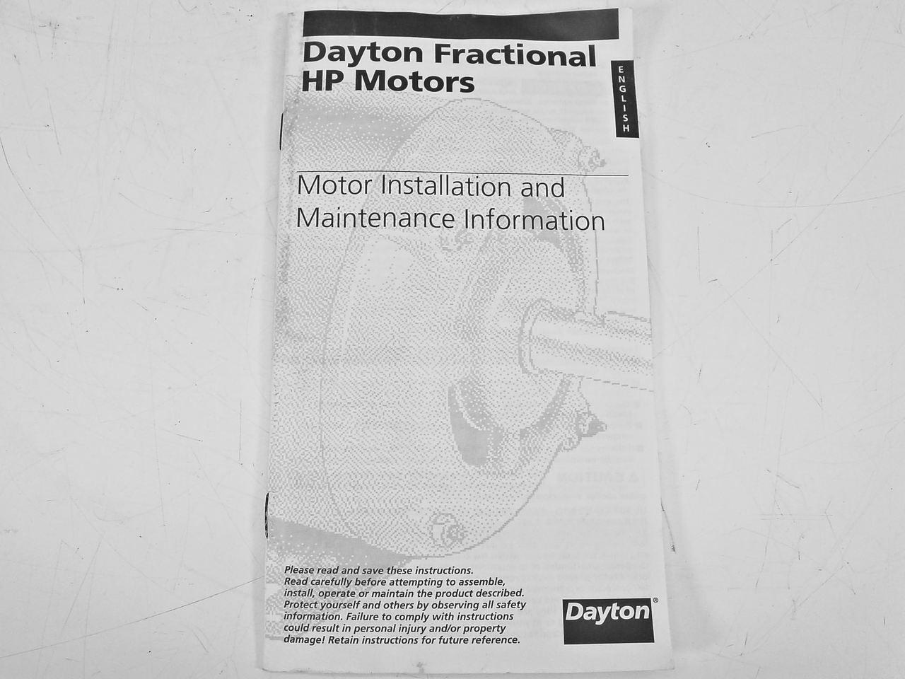 hight resolution of  dayton 1 3 hp 3450rpm 115v split phase motor 5k586ba