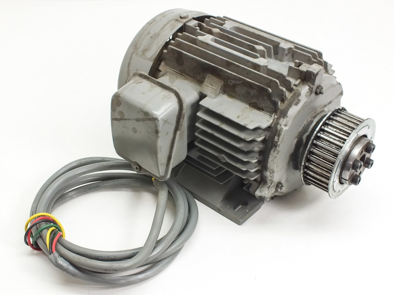 hitachi 3 phase 200 220 vac induction motor 0 75kw 71 1326 tfo  [ 1280 x 960 Pixel ]