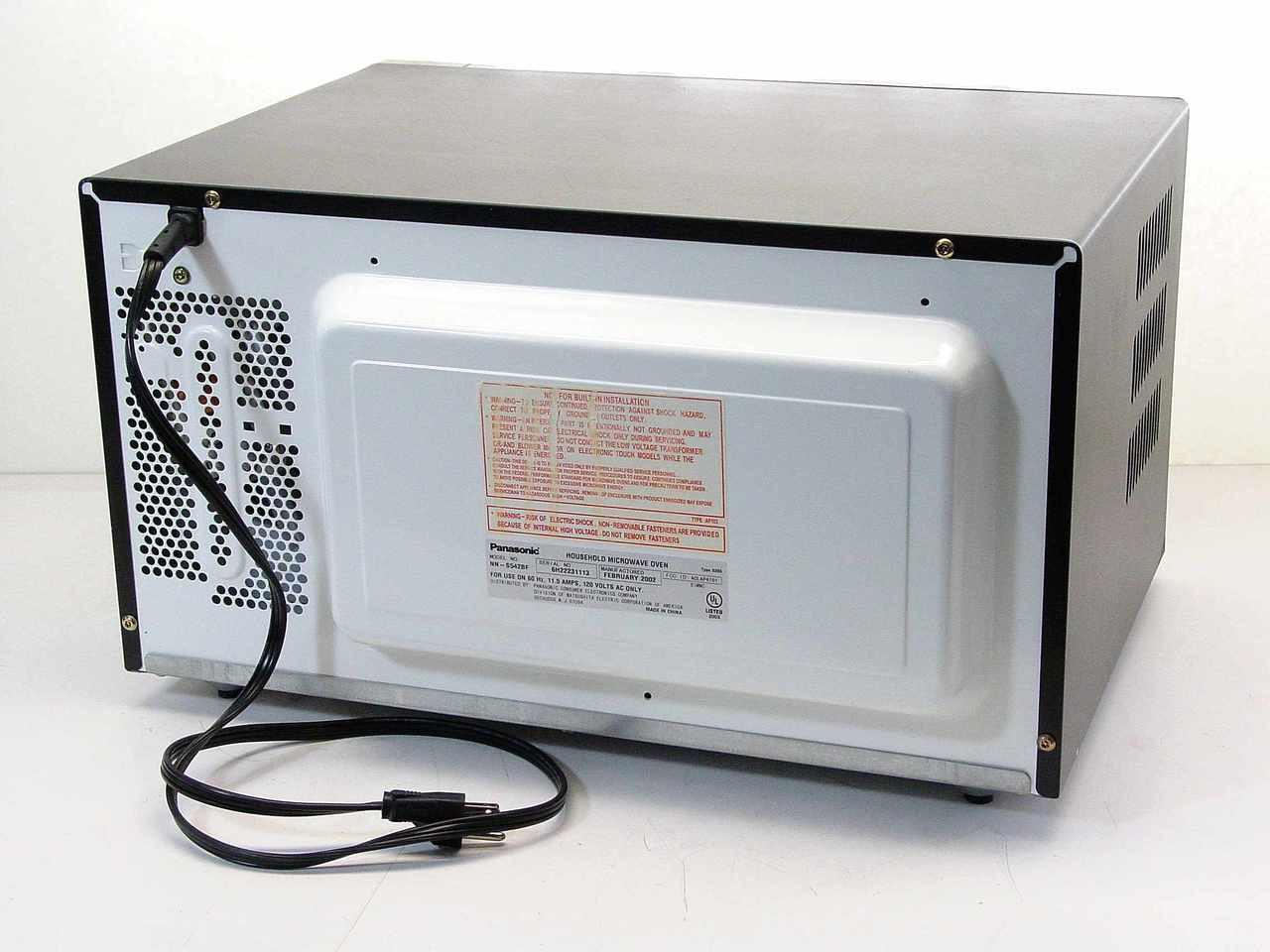 panasonic nn s542bf 1300 watt microwave oven